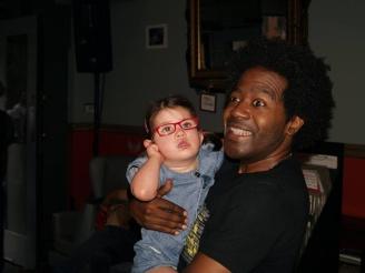DJ Pierre with Connie.